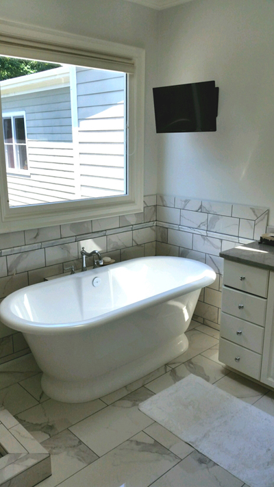 Chatham Tile Fedora tub 1