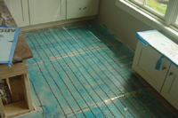Heated Tile Floor Units